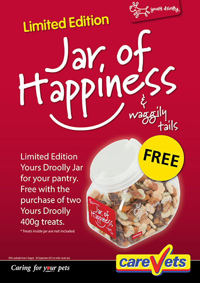 Yours Drooly Jar Of Happiness