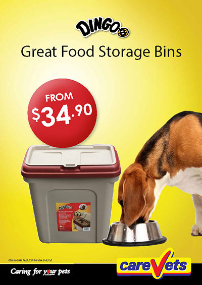 Dingo Food Storage Bins