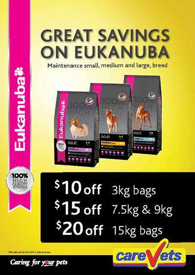 Great Savings on Eukanuba Foods