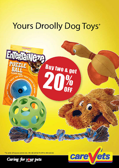 Yours Droolly Dog Toys