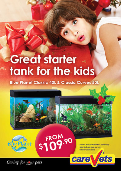 Blue Planet Classic 40L & Classic Curves 50L aquariums