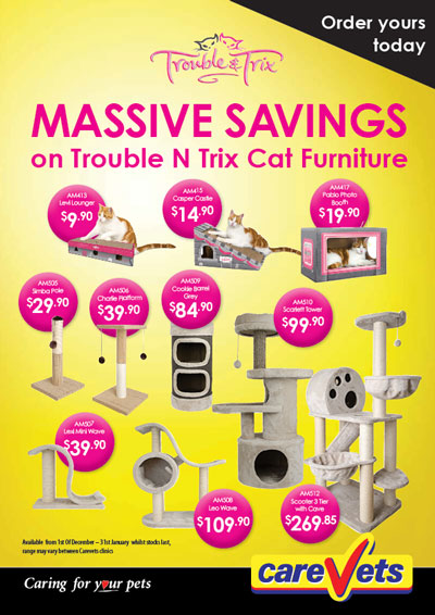 Trouble 'n' Trix Cat Furniture