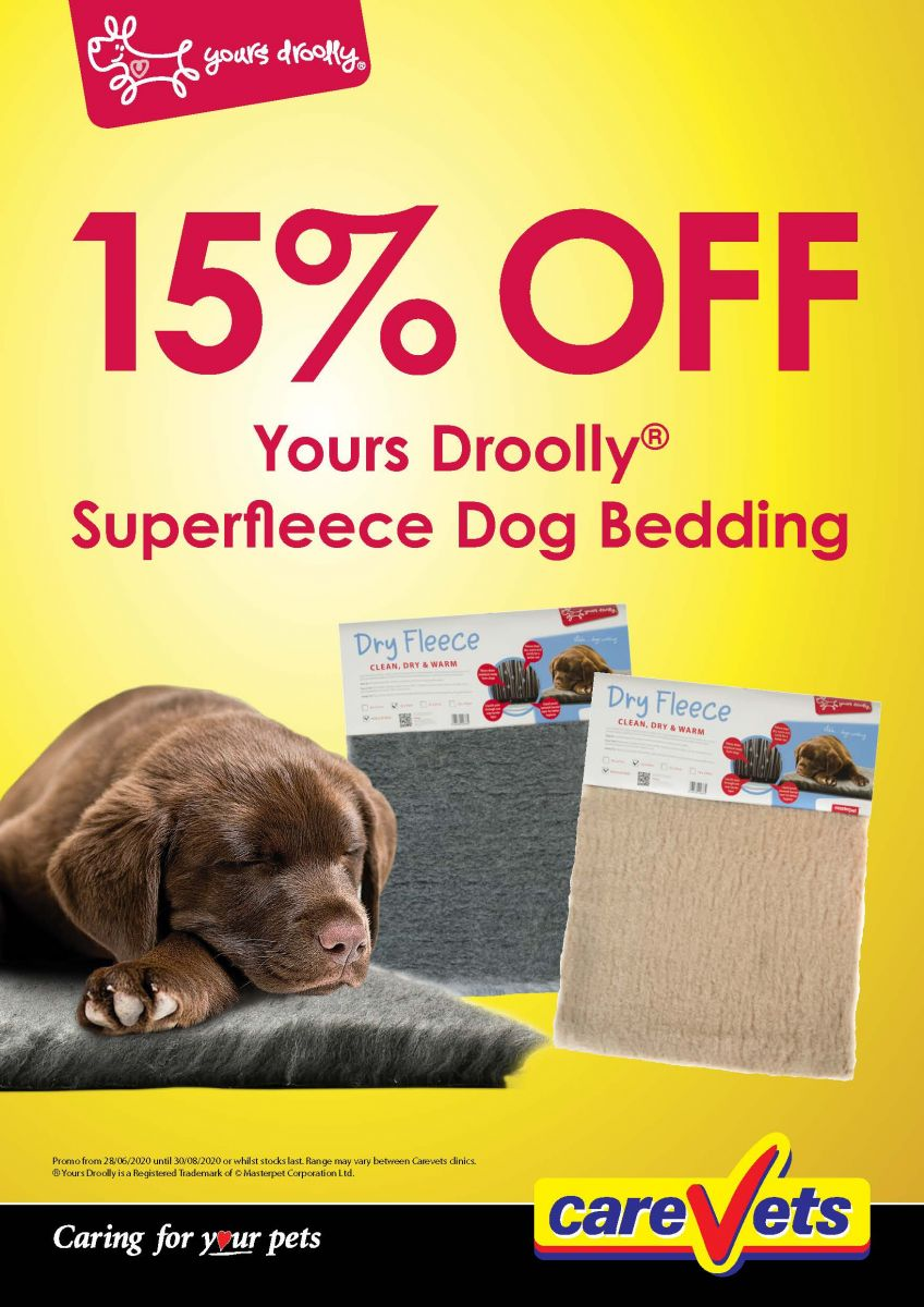 Yours-Droolly-Superfleece-Dog-Bedding