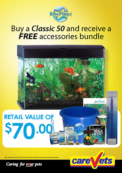 Blue Planet classic aquariums
