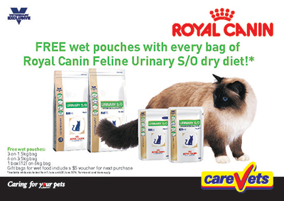 Royal Canin Feline Urinary S/O Pouches