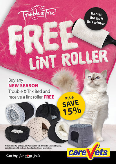yours-droolly-cat-bed-free-lint-roller