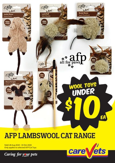 All-For-Paws-Lambswool-Cat-Range-Under-10
