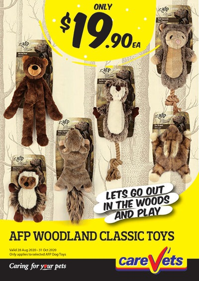 All-For-Paws-Woodland-Classic-Toy-Range-19-90