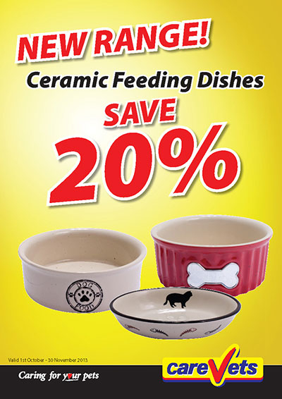 Ceramic Feeding Dishes