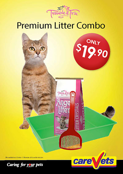 Trouble and Trix premium Litter Combo