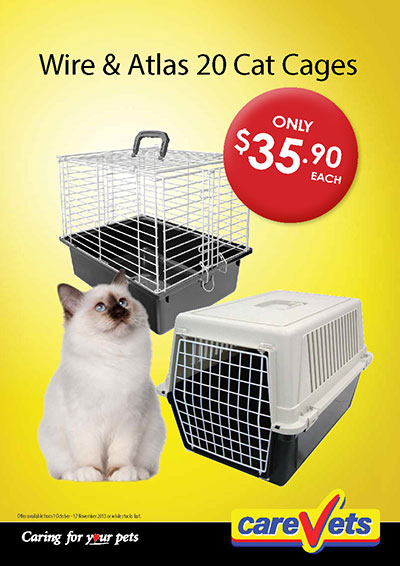 Wire and Atlas 20 cat Cages