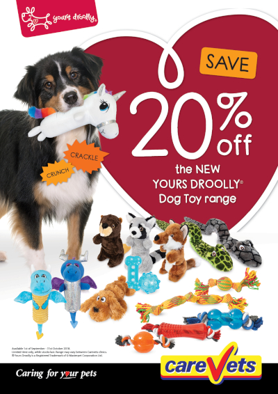 20-Off-Yours-Droolly-Dog-Toy-Range
