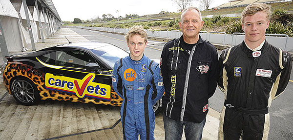 CareVets Scholarship gives two drivers a chance to further their racing careers