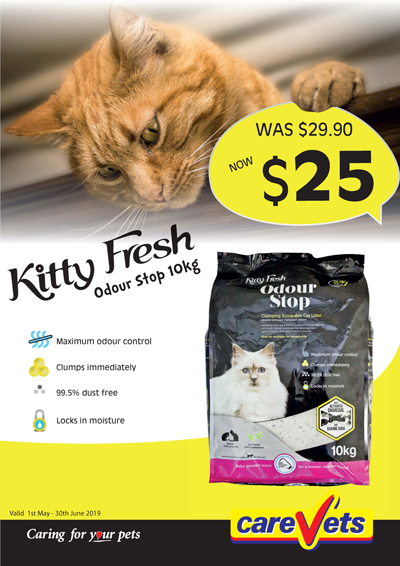 Kitty-Fresh-Kitty-Litter