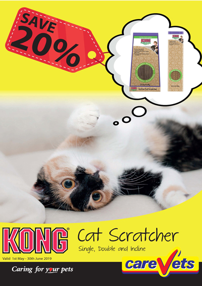 Kong-Cat-Scratcher-Carevet
